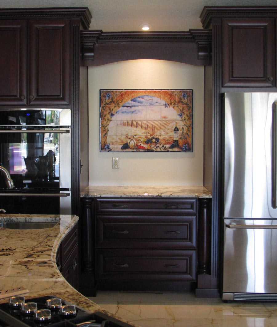 Kitchen Design Arch: Tuscany Backsplash Tiles