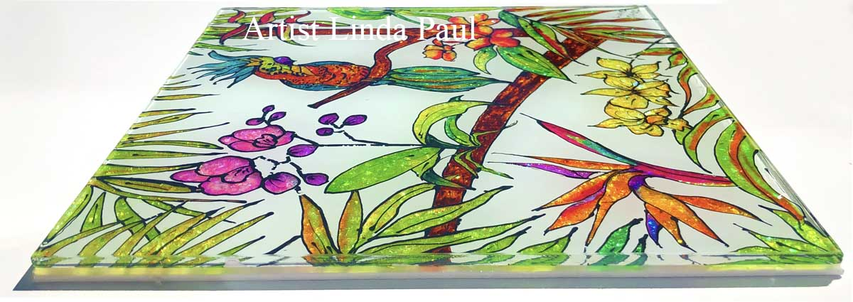 hand painted decorative tiles.htm tropical tiles handmade glass kitchen backsplash of orchid  tropical tiles handmade glass kitchen