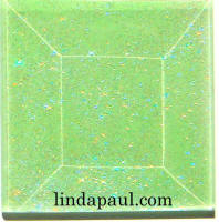 green glass 2x2 accent tile