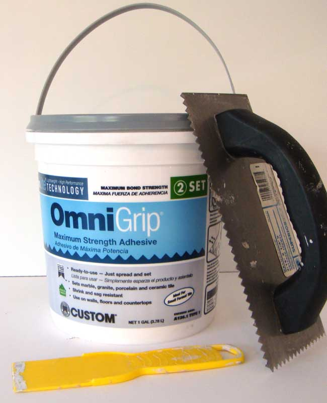 Gl Tile Adhesive And Trowel