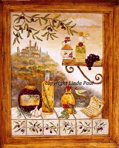 Original Tuscany Painting