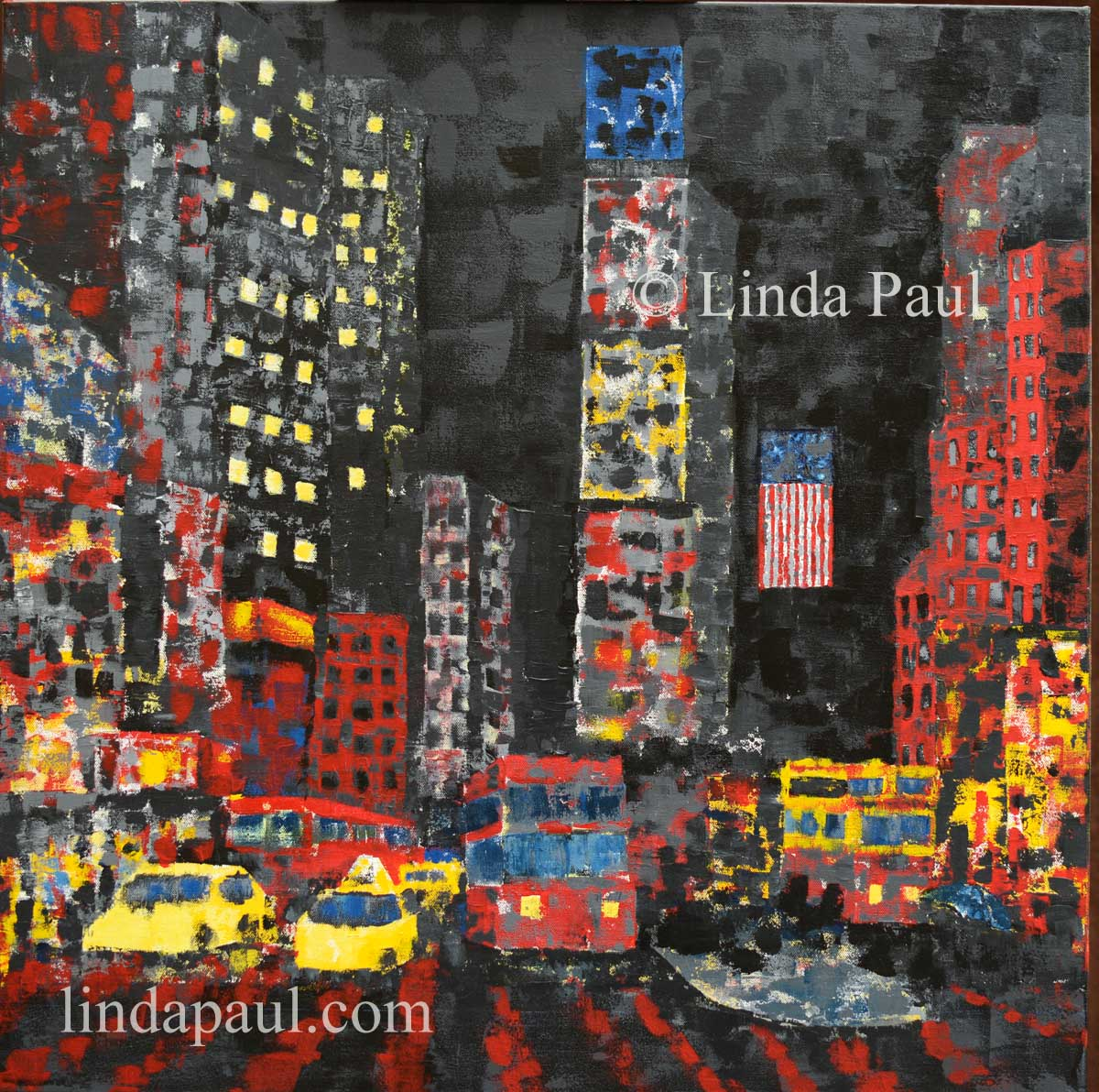 new york art painting for sale new york city paintings. Black Bedroom Furniture Sets. Home Design Ideas