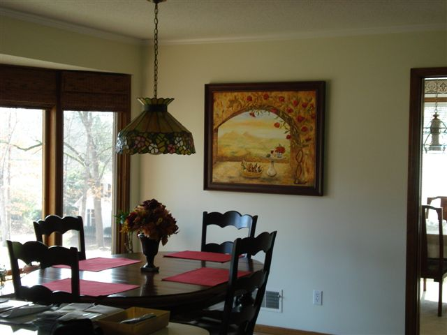 Art reviews and comments from customers of linda paul studio for Wine themed dining room ideas