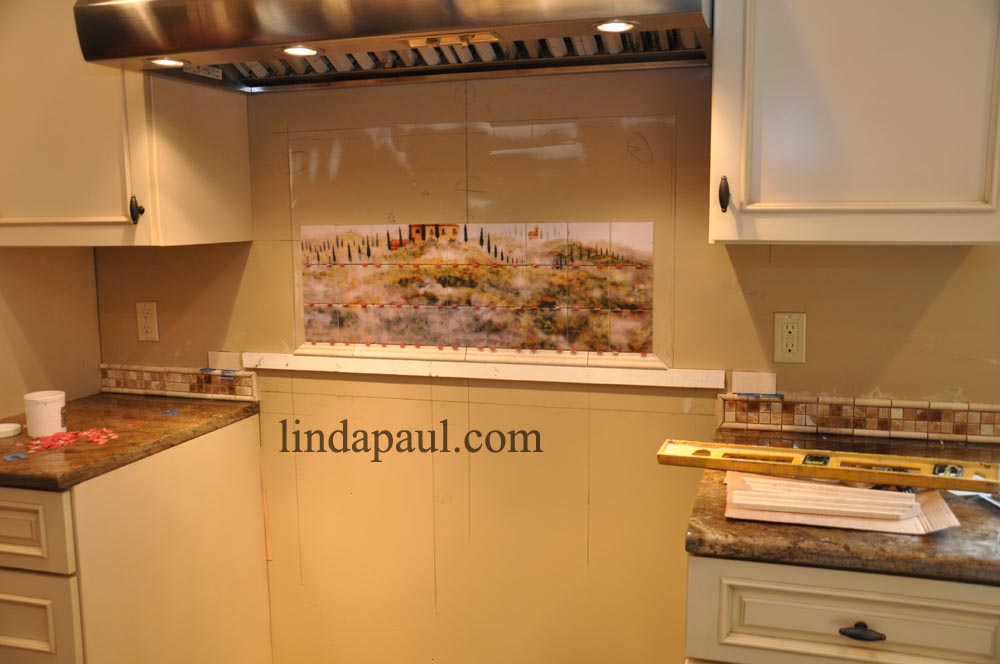 Backsplash installation how to install a kitchen backsplash - How to replace backsplash ...