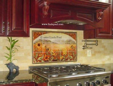Kitchen Tile Wall Murals