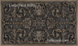 ravenna Plaque backsplash bronze