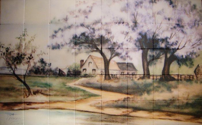 Custom Tile Murals From Your Art Or Photo Tile Art