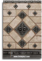 fleur de lis tile patterns