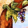 grapes kitchen decor tile