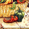 peppers decorative tiles