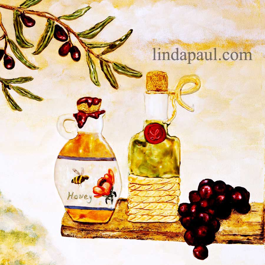 Poppy Hill Tuscan Kitchen: Kitchen Tiles Murals Ideas