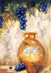 grapes canvas giclee print