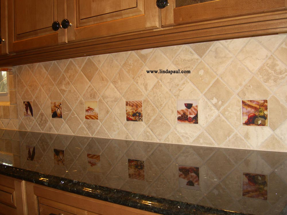 kitchen backsplash accent tile the vineyard tile murals tuscan wine tiles kitchen backsplashes 2525