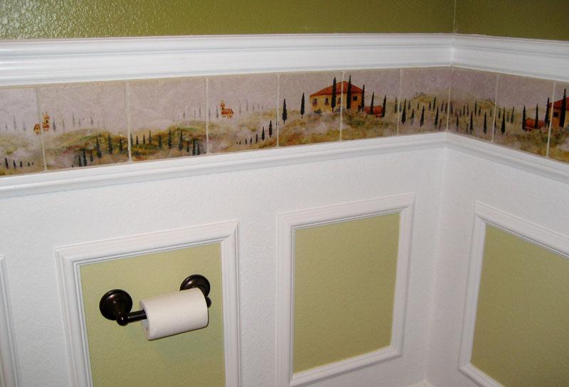 Wallpaper borders bathroom wallpaper borders sherwin for Wallpaper borders bathroom ideas